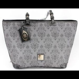 Dooney & Burke Disney Haunted Mansion Tote Leather
